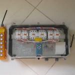 جعبه کنترل بالابرهای هیدرولیکی با امکان اتصال میکروسویچ